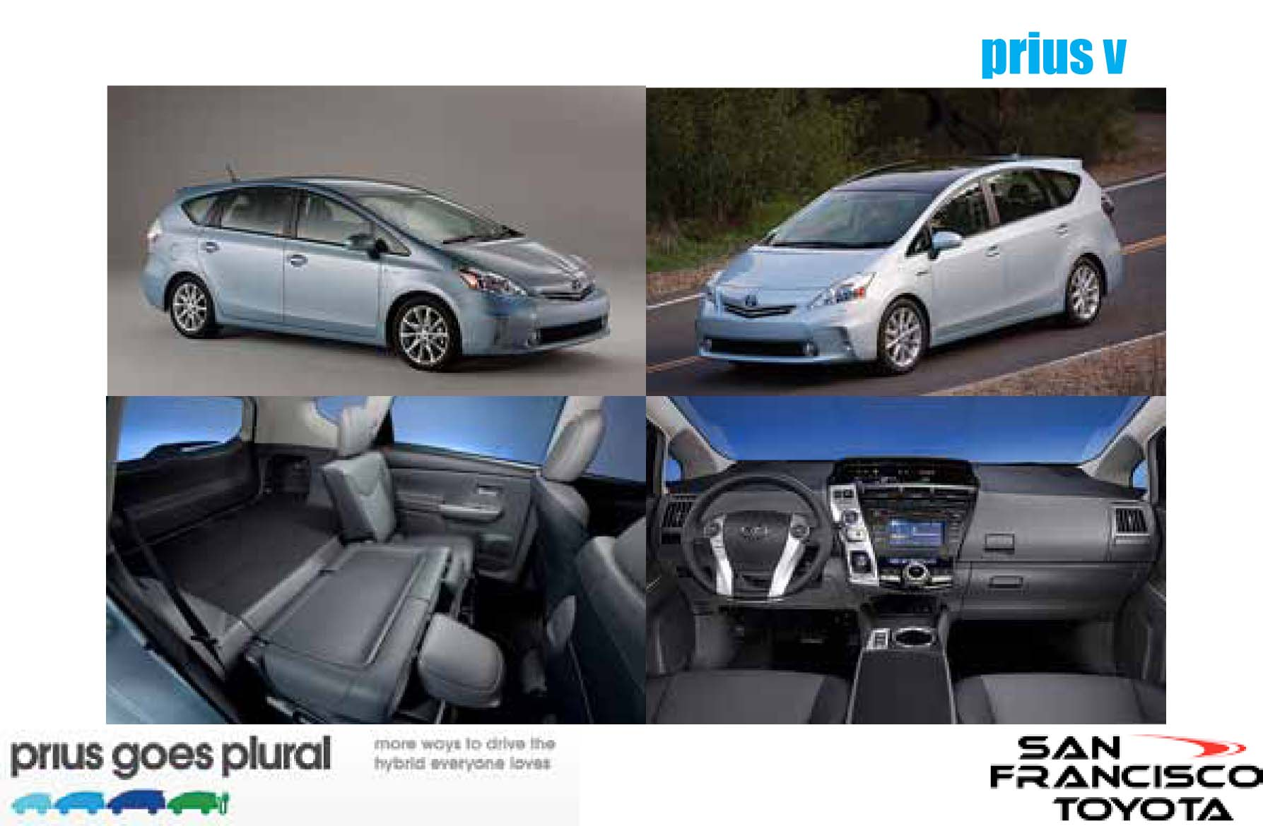 Take A Look At 2011 Prius V Ilovesftoyota